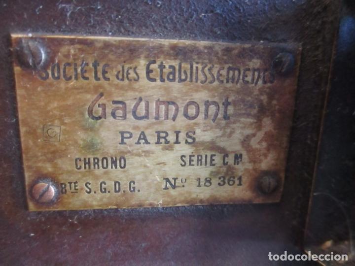 Antigüedades: Antiguo Proyector, Cine Sonoro - Societe des Etablissements Gaumont, París - Pionifilm - Foto 34 - 163818590