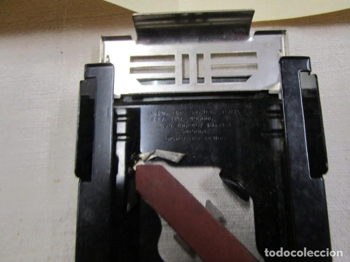 Antigüedades: ALLEGRO - MOD. L - MAQUINILLA AFILAR HOJAS DE AFEITAR, DE SUIZA, SAFETY RAZOR + INFO - Foto 3 - 163966934
