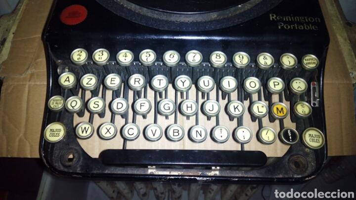 Antigüedades: Maquina de escribir, REMINGTON,Portable(muy buen estado) - Foto 3 - 164016226
