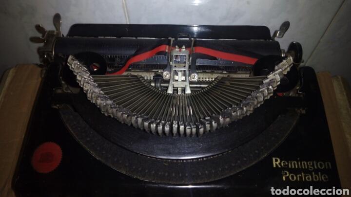Antigüedades: Maquina de escribir, REMINGTON,Portable(muy buen estado) - Foto 4 - 164016226