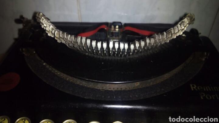 Antigüedades: Maquina de escribir, REMINGTON,Portable(muy buen estado) - Foto 5 - 164016226