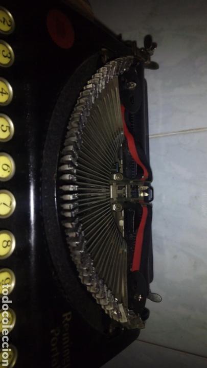 Antigüedades: Maquina de escribir, REMINGTON,Portable(muy buen estado) - Foto 6 - 164016226