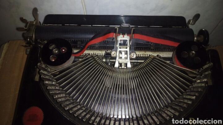 Antigüedades: Maquina de escribir, REMINGTON,Portable(muy buen estado) - Foto 7 - 164016226