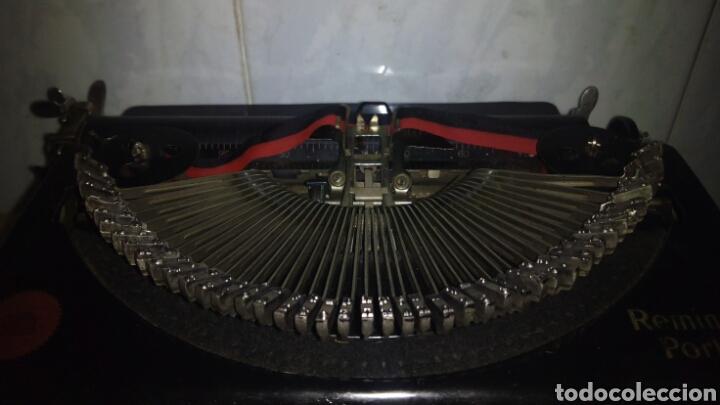 Antigüedades: Maquina de escribir, REMINGTON,Portable(muy buen estado) - Foto 8 - 164016226
