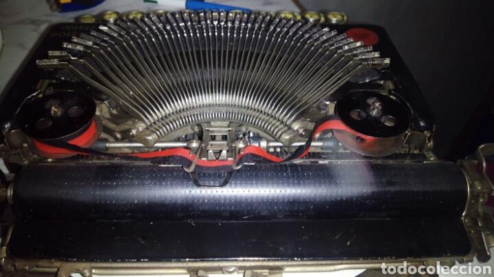 Antigüedades: Maquina de escribir, REMINGTON,Portable(muy buen estado) - Foto 16 - 164016226