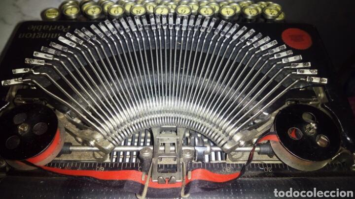 Antigüedades: Maquina de escribir, REMINGTON,Portable(muy buen estado) - Foto 20 - 164016226