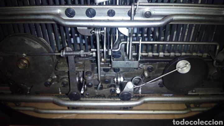 Antigüedades: Maquina de escribir, REMINGTON,Portable(muy buen estado) - Foto 24 - 164016226