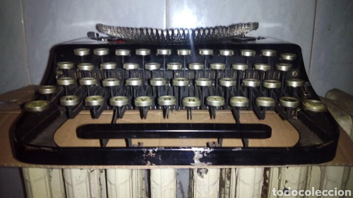 Antigüedades: Maquina de escribir, REMINGTON,Portable(muy buen estado) - Foto 26 - 164016226