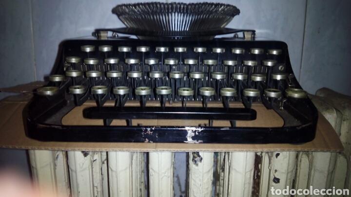 MAQUINA DE ESCRIBIR, REMINGTON,PORTABLE(MUY BUEN ESTADO) (Antigüedades - Técnicas - Máquinas de Escribir Antiguas - Remington)
