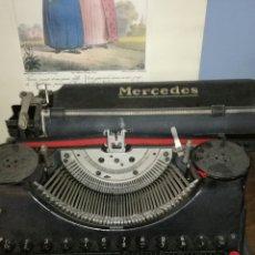 Antigüedades: MAQUINA DE ESCRIBIR MARCA MERCEDES. Lote 164069072