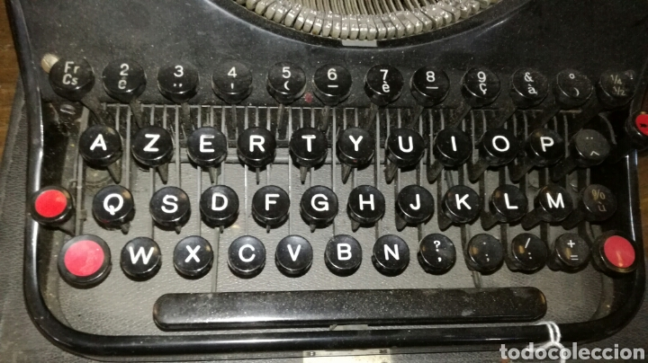 Antigüedades: Maquina de escribir marca mercedes - Foto 2 - 164069072