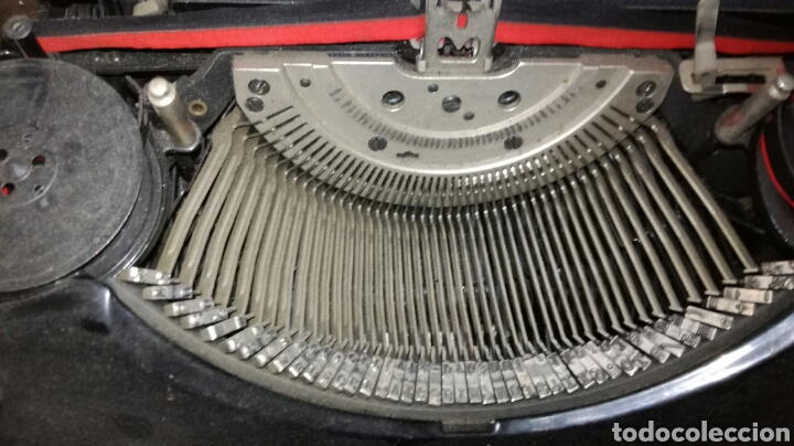 Antigüedades: Maquina de escribir marca mercedes - Foto 3 - 164069072