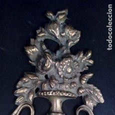 Antigüedades: REMATE NEOCLÁSICO EN BRONCE CINCELADO EN ALTO RELIEVE. PERIODO ISABELINO. SIGLO XIX.. Lote 164089790