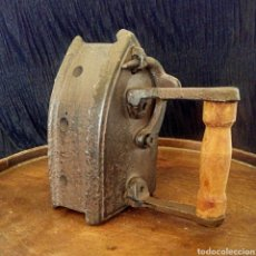 Antigüedades: ANTIGUA PLANCHA DE CARBON EN MINIATURA.. Lote 164121329