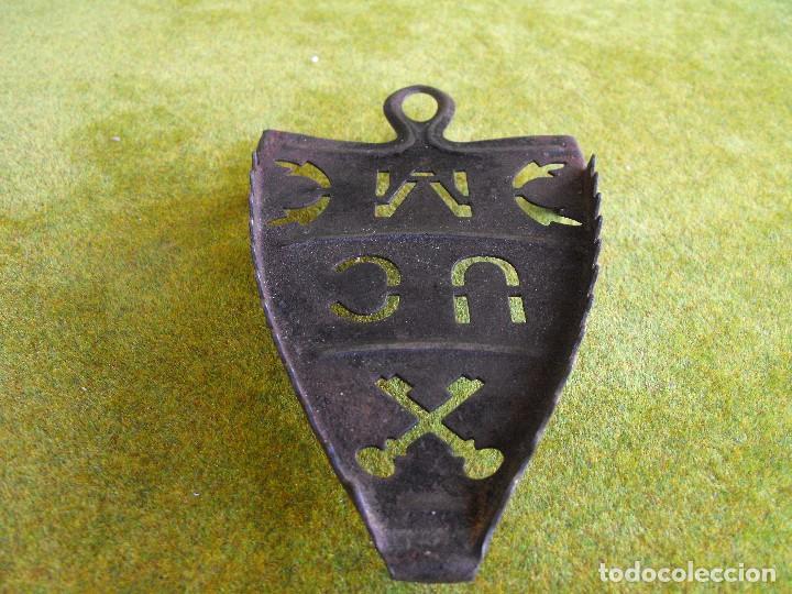 Antigüedades: Soporte de plancha de hierro - Foto 3 - 164175226