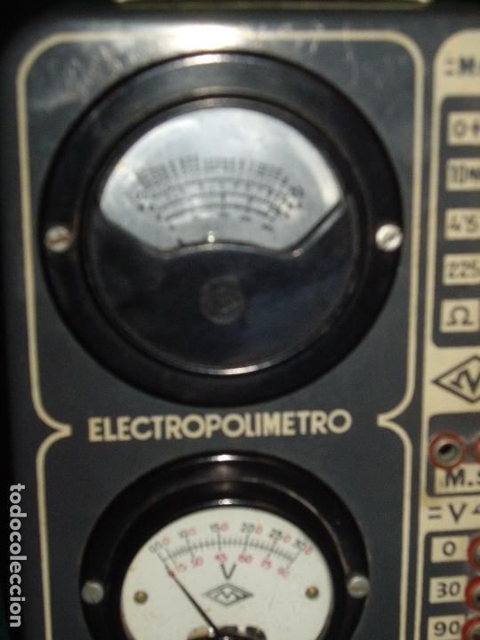 Antigüedades: ELECTRICIDAD - ELECTROPOLIMETRO - Foto 2 - 164412662