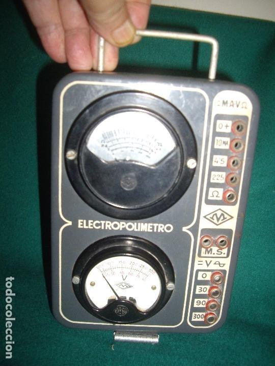 Antigüedades: ELECTRICIDAD - ELECTROPOLIMETRO - Foto 3 - 164412662