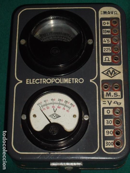 Antigüedades: ELECTRICIDAD - ELECTROPOLIMETRO - Foto 4 - 164412662