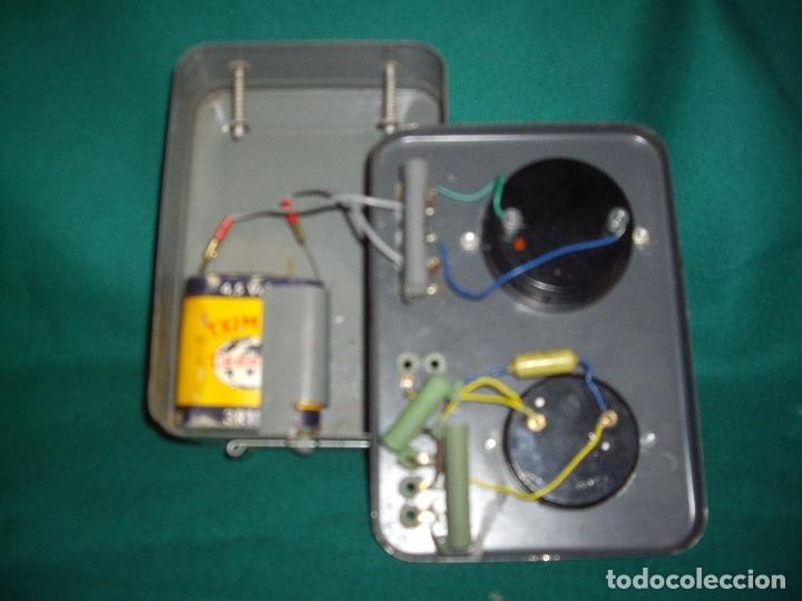 Antigüedades: ELECTRICIDAD - ELECTROPOLIMETRO - Foto 5 - 164412662