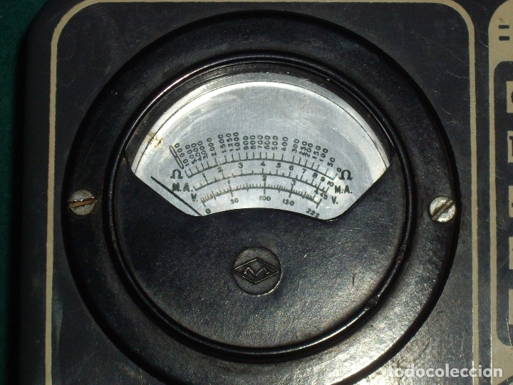Antigüedades: ELECTRICIDAD - ELECTROPOLIMETRO - Foto 6 - 164412662