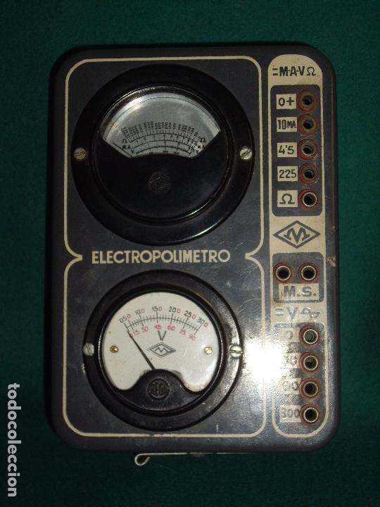 Antigüedades: ELECTRICIDAD - ELECTROPOLIMETRO - Foto 8 - 164412662