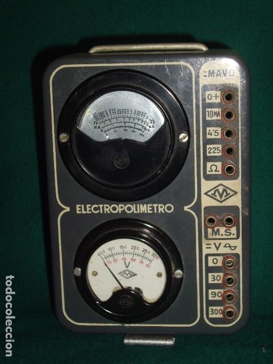 ELECTRICIDAD - ELECTROPOLIMETRO (Antigüedades - Técnicas - Herramientas Profesionales - Electricidad)