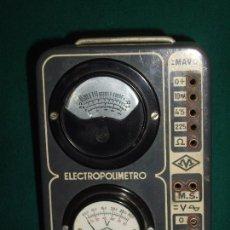 Antigüedades: ELECTRICIDAD - ELECTROPOLIMETRO. Lote 164412662