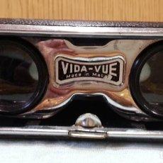 Antigüedades: PRISMÁTICOS VINTAGE. AÑOS 70. MARCA VIDA-VUE. Lote 164472082
