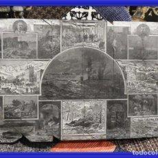 Antigüedades: MAGNIFICA PLANCHA ANTIGUA DE GRABADO DE GUERRAS NAPOLEONICAS. Lote 164581230