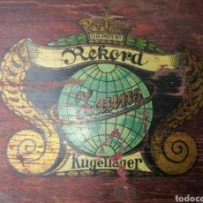 Antigüedades: IMPRESIONANTE RECOGEDOR S.XIX REKORD KUGELLAGER. Lote 164602444