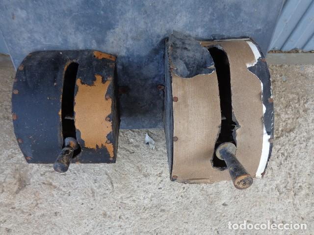Antigüedades: Cuadro electrico, electricidad antiguo con amperimetros, fusibles, etc... - Foto 5 - 164622138
