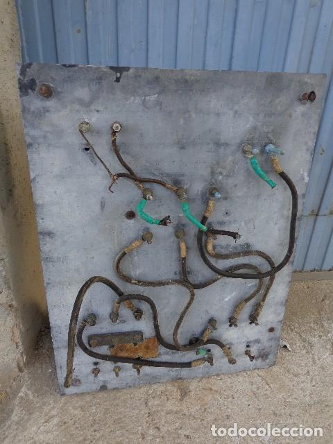 Antigüedades: Cuadro electrico, electricidad antiguo con amperimetros, fusibles, etc... - Foto 7 - 164622138
