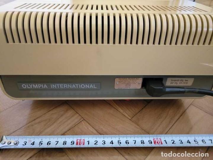 Antigüedades: CALCULADORA DE SOBREMESA OLYMPIA CD300 M71 DE TUBOS NIXIE - 12 DIGITOS AÑOS 70 - CALCULATOR - Foto 51 - 164695038