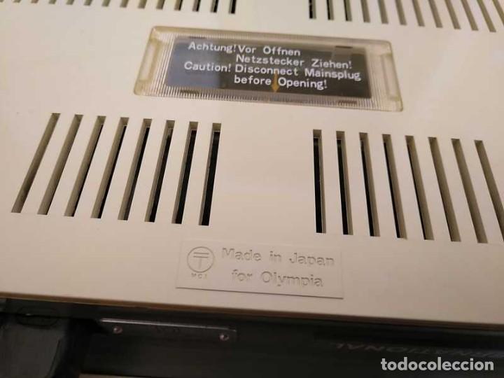 Antigüedades: CALCULADORA DE SOBREMESA OLYMPIA CD300 M71 DE TUBOS NIXIE - 12 DIGITOS AÑOS 70 - CALCULATOR - Foto 69 - 164695038