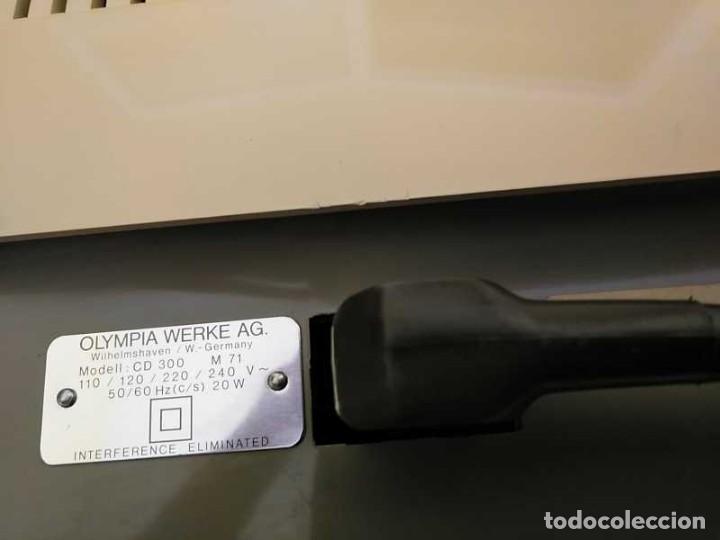 Antigüedades: CALCULADORA DE SOBREMESA OLYMPIA CD300 M71 DE TUBOS NIXIE - 12 DIGITOS AÑOS 70 - CALCULATOR - Foto 72 - 164695038