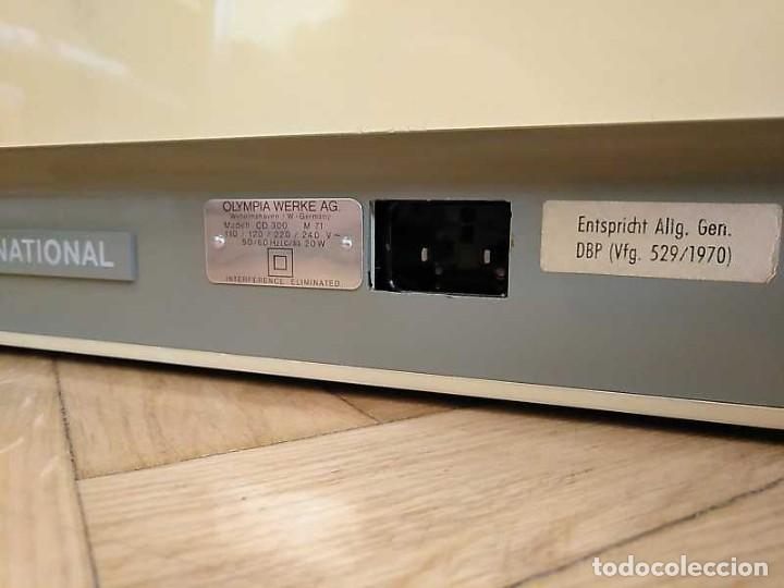 Antigüedades: CALCULADORA DE SOBREMESA OLYMPIA CD300 M71 DE TUBOS NIXIE - 12 DIGITOS AÑOS 70 - CALCULATOR - Foto 76 - 164695038