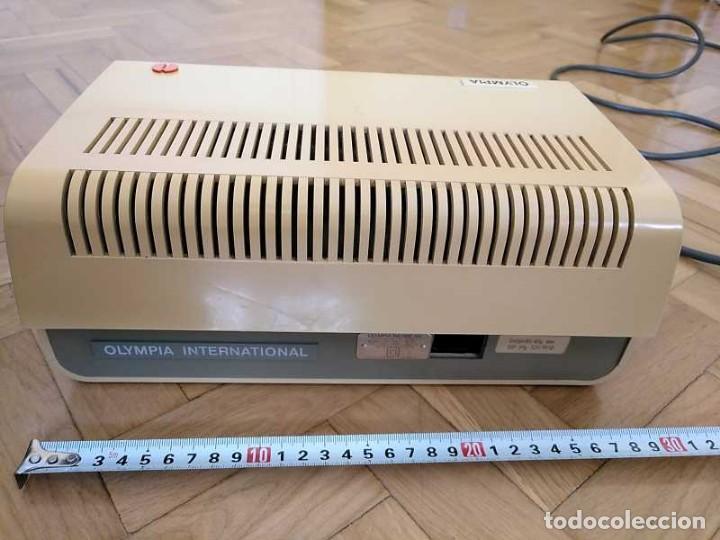 Antigüedades: CALCULADORA DE SOBREMESA OLYMPIA CD300 M71 DE TUBOS NIXIE - 12 DIGITOS AÑOS 70 - CALCULATOR - Foto 83 - 164695038
