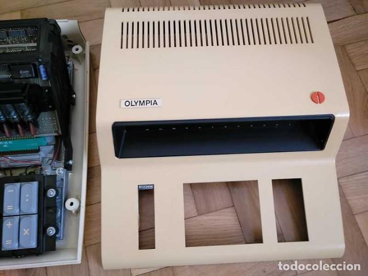 Antigüedades: CALCULADORA DE SOBREMESA OLYMPIA CD300 M71 DE TUBOS NIXIE - 12 DIGITOS AÑOS 70 - CALCULATOR - Foto 122 - 164695038