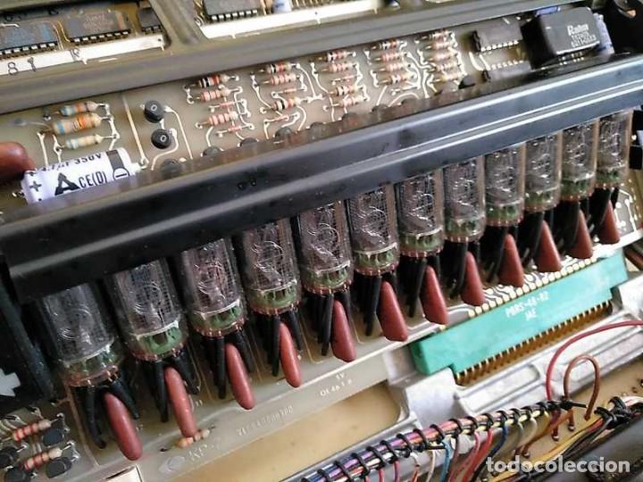 Antigüedades: CALCULADORA DE SOBREMESA OLYMPIA CD300 M71 DE TUBOS NIXIE - 12 DIGITOS AÑOS 70 - CALCULATOR - Foto 126 - 164695038