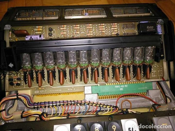Antigüedades: CALCULADORA DE SOBREMESA OLYMPIA CD300 M71 DE TUBOS NIXIE - 12 DIGITOS AÑOS 70 - CALCULATOR - Foto 152 - 164695038