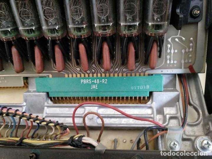 Antigüedades: CALCULADORA DE SOBREMESA OLYMPIA CD300 M71 DE TUBOS NIXIE - 12 DIGITOS AÑOS 70 - CALCULATOR - Foto 161 - 164695038