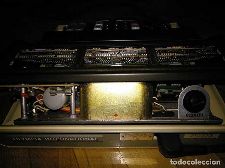Antigüedades: CALCULADORA DE SOBREMESA OLYMPIA CD300 M71 DE TUBOS NIXIE - 12 DIGITOS AÑOS 70 - CALCULATOR - Foto 165 - 164695038