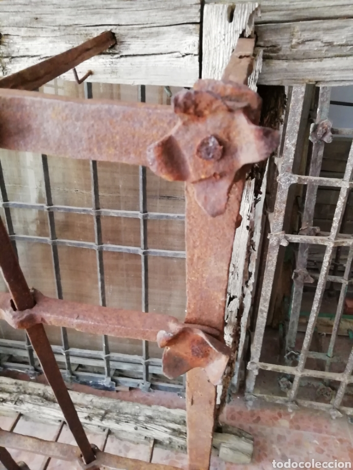 Antigüedades: Antigua reja - Foto 4 - 164703238