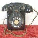 Teléfonos: TELÉFONO DE BAQUELITA. STANDART ELÉCTRICA. MADRID. ESPAÑA. CIRCA 1950. . Lote 164706822