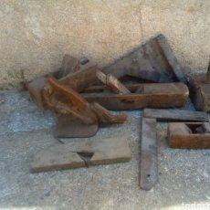 Antigüedades: LOTE ANTIGUO DE CARPINTERO. Lote 164721604