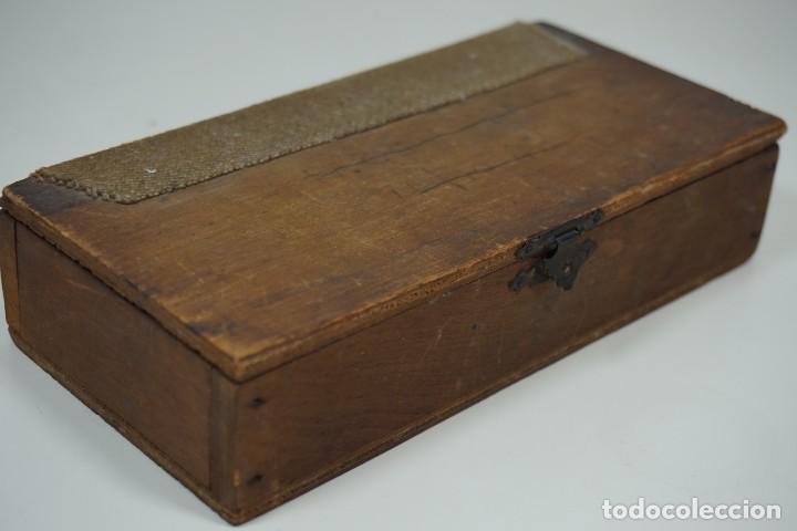 Antigüedades: ANTIGUA COLECCIÓN DE 24 PREPARACIONES MICROSCÓPICAS c.1880 - Foto 2 - 164731210
