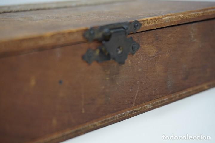 Antigüedades: ANTIGUA COLECCIÓN DE 24 PREPARACIONES MICROSCÓPICAS c.1880 - Foto 4 - 164731210