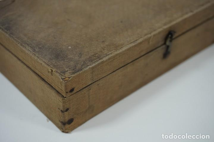 Antigüedades: MICROSCOPIO. ANTIGUA COLECCIÓN DE 24 PREPARACIONES MICROSCÓPICAS c.1880 - Foto 16 - 164731854