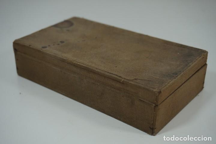 Antigüedades: MICROSCOPIO. ANTIGUA COLECCIÓN DE 24 PREPARACIONES MICROSCÓPICAS c.1880 - Foto 19 - 164731854