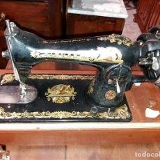 Antigüedades - maquina de coser Singer de mano - 164864234